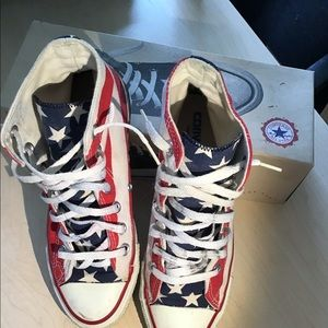 Vintage high top sneakers for male or female